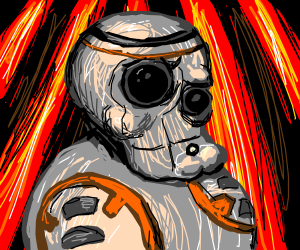 handsome (...yet kinda intimidating) BB-8