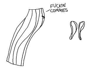 Bacon Strip Is Against Communism