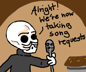 Cantina Band member is taking requests