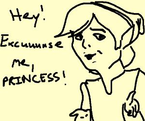 """""""Hey!"""" """"Excuuuuse me, Princess!"""""""