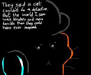 Detective Noir Cat