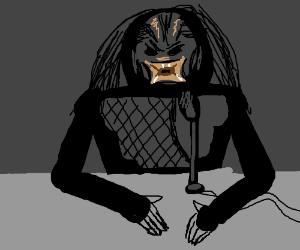 The Predator is a radio talk show host
