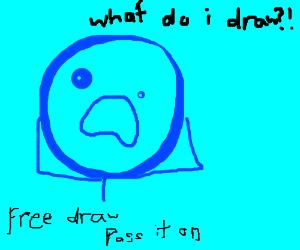 Free draw, pass it on!