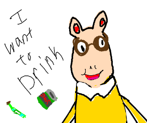 arthur wants to drink