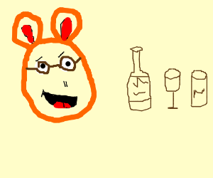 Arthur wants to get drunk.