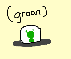 Groan is the input for alien ship