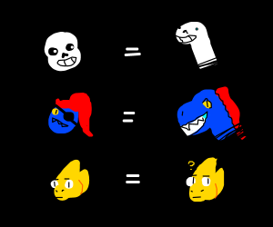 The new rule is any Undertale are dinosaurs