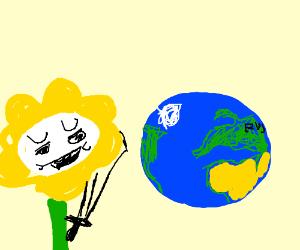 Flowey vs the world