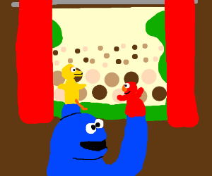 Monster's Debut Puppet Show