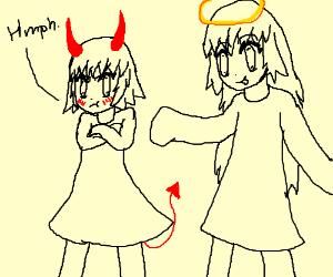 Image result for images of cartoon devil girls