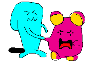 whishmur and wobbuffet are friends