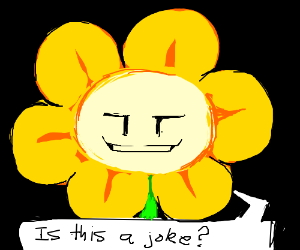 that one flower guy from undertale. name????