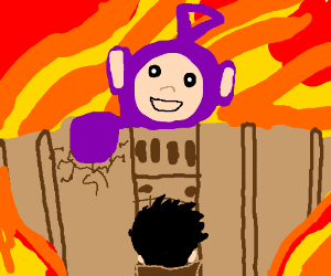 Attack on Teletubbies