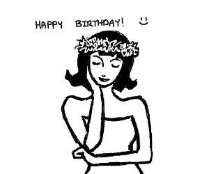 It's my birthday! Draw whatever you want!