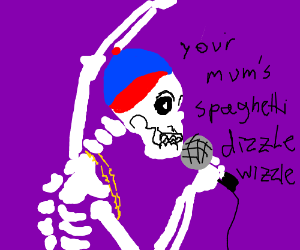 skeleton rapper