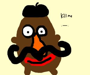 French Mr Potato Head