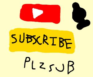 a youtuber's shameless plug