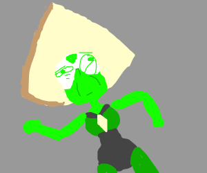 "Peridot is a bit gem""stoned"""