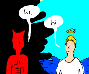 Angel & Demon talk