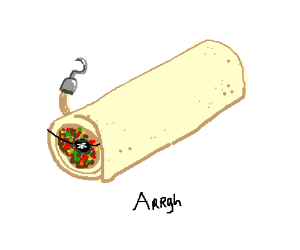 burrito pirate