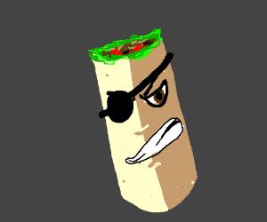 Pirate Burrito!