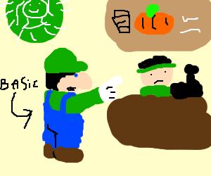 Luigi Orders a Pumkin Spice Latte