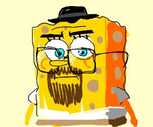 Walter Bob . Sponge White .