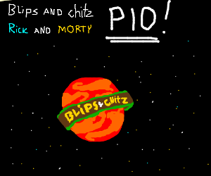 blips and chitz rick and morty pio
