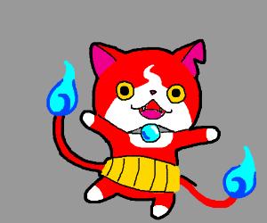 Yokai Watch Cat is ready