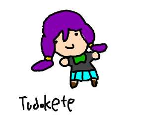 Todokete from Drawception