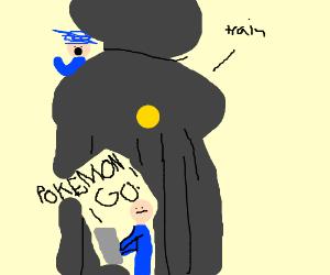 Oblivious Pokemon Go Players
