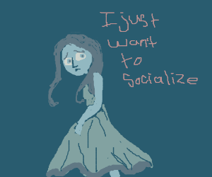 girl wants to socialize