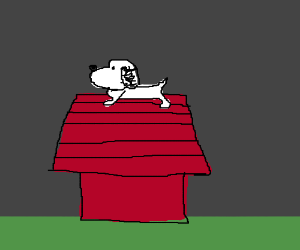 Snoopy is depressed, writes suicide note