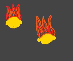 FLAMING LEMONS