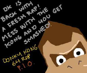 Donkey Kong 64 rap (PIO)