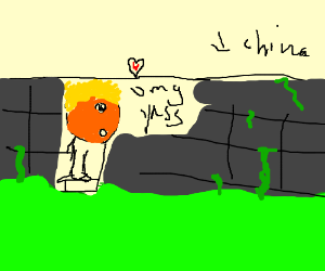 Donald loves the Great Wall of China