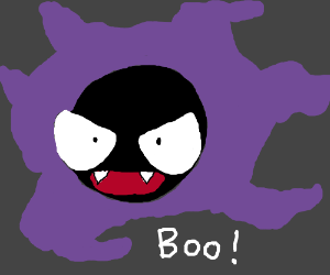 Gastly gives you a spook