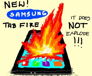 New Samsung tablet is pretty okay.