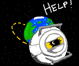 Help, I'm orbiting Earth and I can't stop!