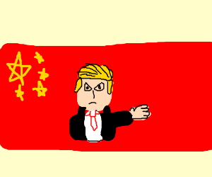 Commander Trump angry at China