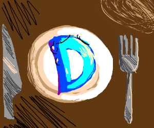 Someone wants to eat drawception