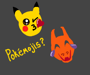 Top game worthy Pikachu - Drawception
