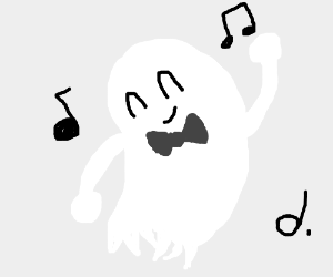 Image result for dancing ghost
