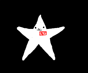 A star named Pat (a white star, not Spengbab)