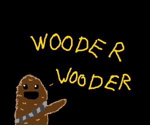 Chewy saying wooder