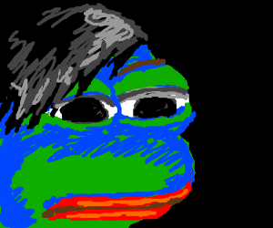 Pepe's The Frog's Emo Phase