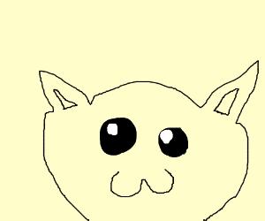 Kawaii Cat Drawing By Darkkdeath Drawception