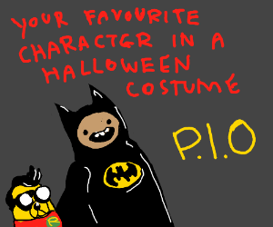 Favorite character in a halloween costume PIO