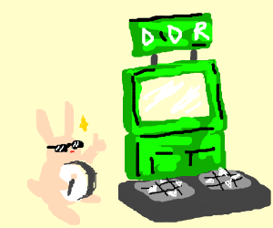 Radical Bunny approves DDR