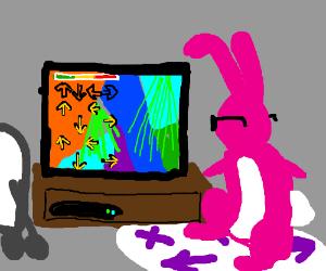 ENERGIZER Bunny loves D.D.R